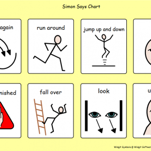 Symbol charts for active play
